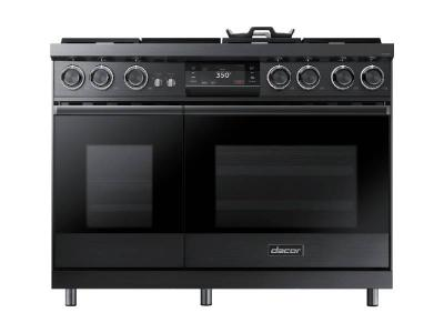 "48"" Dacor Pro Dual-Fuel Steam Range with Griddle - DOP48M96DPM"