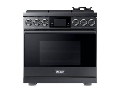 "36"" Dacor 5.4 Cu. Ft. Freestanding  Pro Gas Range - DOP36M96GLM"