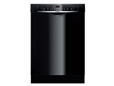 24' Bosch Recessed Handle Dishwasher Ascenta- Black SHE3AR76UC
