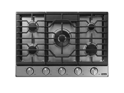 "30"" Dacor Transitional Style Gas Cooktop with Heat Resistant ,Wi-fi  - DTG30P875NS"