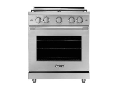 """30"""" Dacor Freestanding All Gas Range with Natural Gas, 5.2 cu. ft. Total Oven Capacity - HGR30PSNG"""