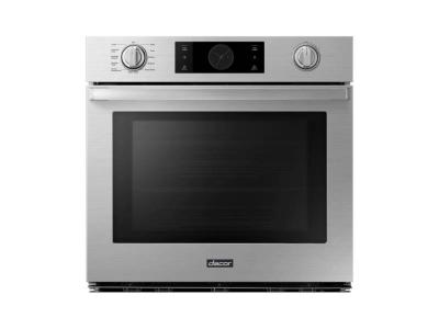 "30"" Dacor Transitional Single Wall Oven with 5.1 cu.ft Capacity - DOB30P977S"