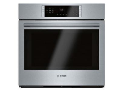 "30"" Bosch 800 Series Single Wall Oven Stainless steel - HBL8453UC"