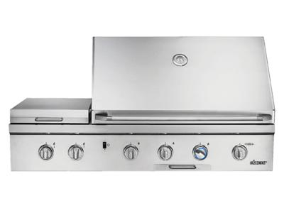 "52"" Dacor Built-In Natural Gas Outdoor Grill With Infrared Sear Burner - OBS52/NG"