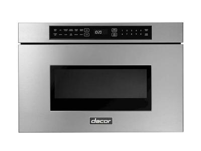 "24"" Dacor Microwave-In-A-Drawer in  Silver Stainless Steel - DMR24M977WS"