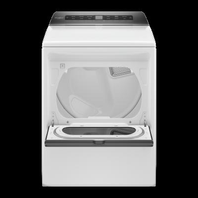 """27"""" Whirlpool 7.4 cu. ft. Smart Top Load Gas Dryer - WGD6120HW"""