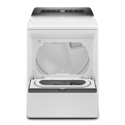 """27"""" Whirlpool 7.4 cu. ft. Top Load Gas Dryer With Intuitive Controls - WGD5100HW"""