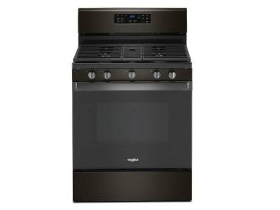 "30"" Whirlpool  Freestanding Gas Range With 5.0 Cu. Ft. Fan Convection Oven - WFG535S0JV"