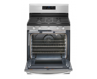 """30"""" Whirlpool 5.0 Cu. Ft. Gas Convection Oven With Fan Convection Cooking - WFG535S0JZ"""