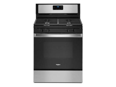 "30"" Whirlpool 5.0 cu. ft.  Gas Range With SpeedHeat  Burner - WFG515S0JS"