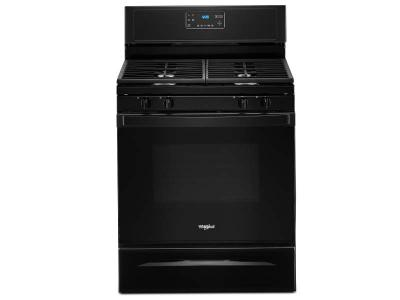 "30"" Whirlpool 5.0 cu. ft. Gas Range With SpeedHeat Burner - WFG515S0JB"
