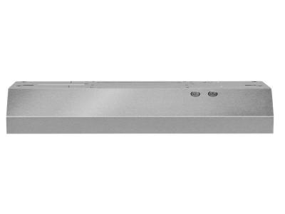 "30"" Whirlpool  Range Hood with Dishwasher-Safe Full-Width Grease Filters - WVU17UC0JS"
