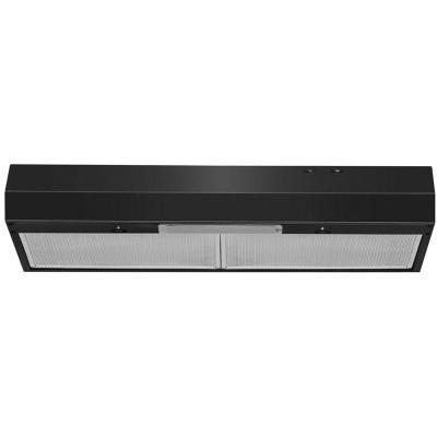 "30"" Whirlpool Range Hood with Dishwasher-Safe Full-Width Grease Filters - WVU17UC0JB"