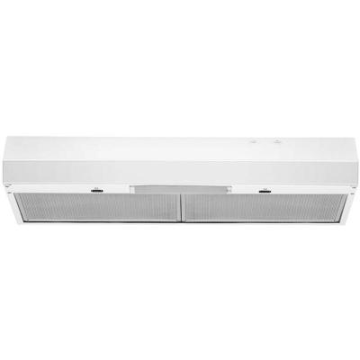 "30"" Whirlpool Range Hood with Dishwasher-Safe Full-Width Grease Filters - WVU17UC0JW"