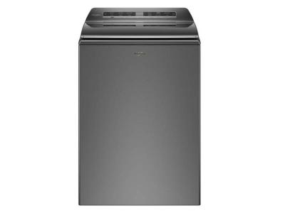 Whirlpool 6.1 Cu. Ft. Smart Top Load Washer In Chrome Shadow - WTW7120HC