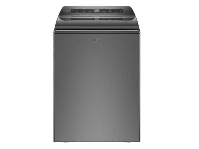 Whirlpool 5.5 Cu. Ft. Smart Top Load Washer In Chrome Shadow - WTW6120HC