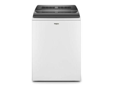 Whirlpool 5.4 Cu. Ft. Top Load Washer With Pretreat Station In White - WTW5105HW