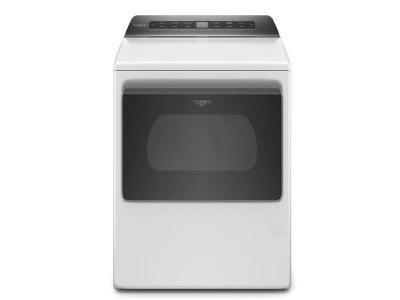 "27"" Whirlpool 7.4 Cu. Ft. Smart Top Load Electric Dryer - YWED6120HW"