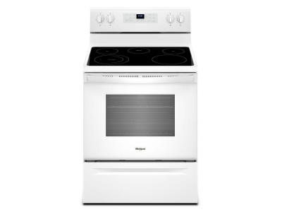 "30"" Whirlpool 5.3 cu. ft. Electric Range With Frozen Bake Technology - YWFE505W0JW"