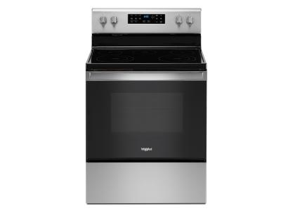 """30"""" Whirlpool 5.3 cu. ft.Electric Range with Frozen Bake Technology - YWFE535S0JZ"""