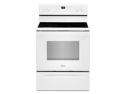 "30"" Whirlpool 5.3 Cu. Ft. Electric Range With Frozen Bake Technology - YWFE515S0JW"