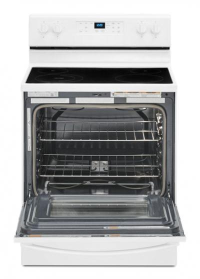 """30"""" Whirlpool 5.3 Cu. Ft. Electric Range With Frozen Bake Technology - YWFE515S0JW"""