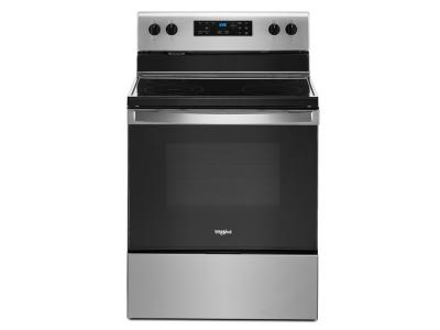 "30"" Whirlpool 5.3 Cu. Ft. Eelectric Range With Frozen Bake Technology - YWFE515S0JS"