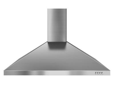 """36"""" Whirlpool Gold Vented  Wall Mount Canopy Hood - WVW7336JS"""