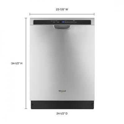 "24"" Whirlpool Dishwasher With Third Level Rack - WDF590SAJM"