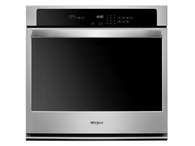 "30"" Whirlpool 5.0 cu. ft. Single Wall Oven with the FIT system - WOS31ES0JS"