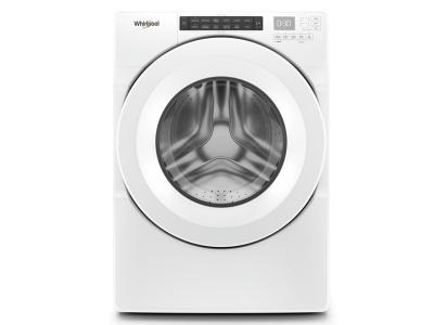 """27"""" Whirlpool 5.0 Cu. Ft I.E.C. Closet Depth Front Load Washer - WFW560CHW"""