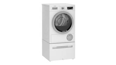 """24"""" Bosch 500 Series Heat Pump Dryer, Home Connect, Energy Star Most Efficient - WTW87NH1UC"""