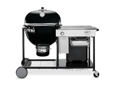 "57"" Summit Charcoal Grilling Centre  - SUMMIT CHARCOAL GRILL CNTR BLK"