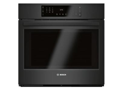 "30"" Bosch 800 Series Single Wall Oven Black - HBL8463UC"