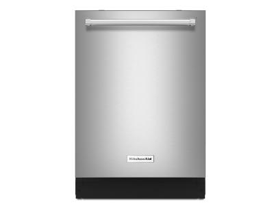 "24"" KitchenAid 44 dBA Dishwasher with Dynamic Wash Arms - KDTM704ESS"