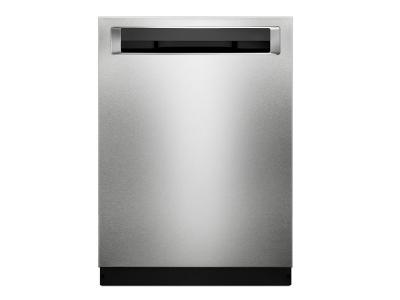 "24"" KitchenAid Dishwashers with Clean Water Wash System and PrintShield Finish, Pocket Handle - KDPM354GPS"