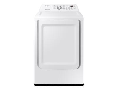 "27"" Samsung 7.2 Cu. Ft. Dryer With Sensor Dry In White - DVE45T3200W"