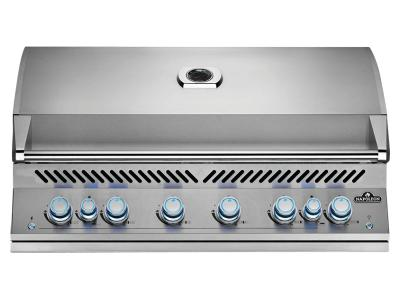 "46"" Napoleon Built-In 700 Series 44 RB Natural Gas Grill With Dual Infrared Rear Burners In Stainless Steel - BIG44RBNSS"