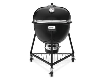"35"" Weber Summit Kamado E6 Charcoal Grill In Black - 18201001"