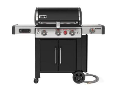 "59"" Weber Genesis II EX-335 Smart Grill with Natural Gas in Black  - 66016601"
