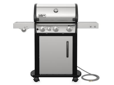 """50"""" Weber Spirit SP-335 Natural Gas Gas Grill In Stainless Steel - 47802101"""