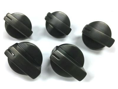 Bosch Cooktop Control Knob Kit, Black Stainless Steel - HEZ27751