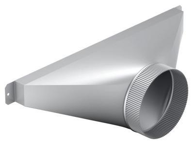 """Bosch 6"""" Side/Rear Transition for Downdraft - HDDSTRAN6"""