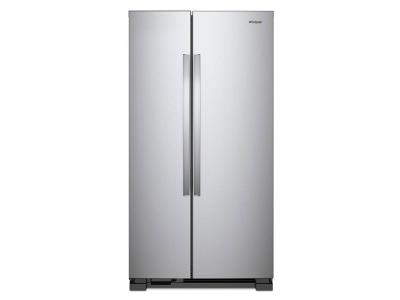 "33"" Whirlpool  Side-by-Side Refrigerator - 22 cu. ft. WRS312SNHM"