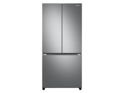 "33"" Samsung French Door Refrigerator With Built-In Look In Fingerprint Resistant Stainless Steel - RF18A5101SR"