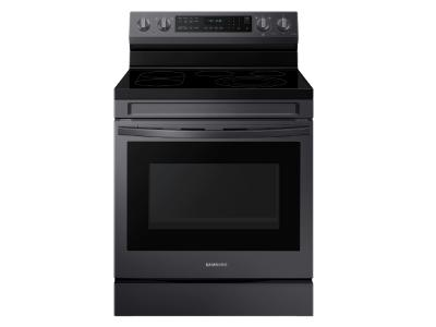 """30"""" Samsung 6.3 Cu. Ft. Freestanding Electric Range With Air Fry And Wi-fi - NE63A6711SG"""