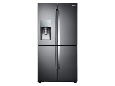 Samsung 4-Door Flex Refrigerator With FlexZone In Fingerprint Resistant Black Stainless Steel - RF28K9380SG