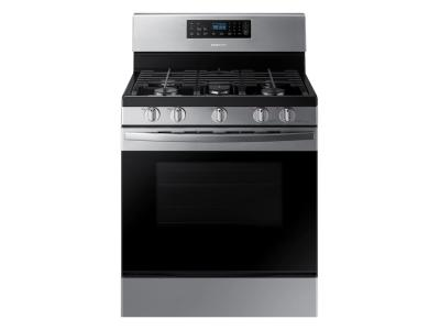 Samsung Freestanding Gas Range With 5 Burners In Stainless Steel - NX58R4311SS
