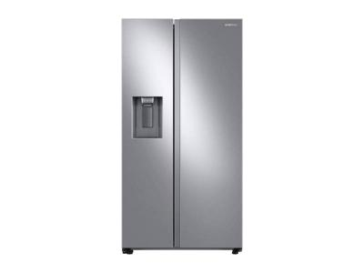 "36"" Samsung 27.4 cu. ft. Large Capacity Side-by-Side Refrigerator -RS27T5200SR"