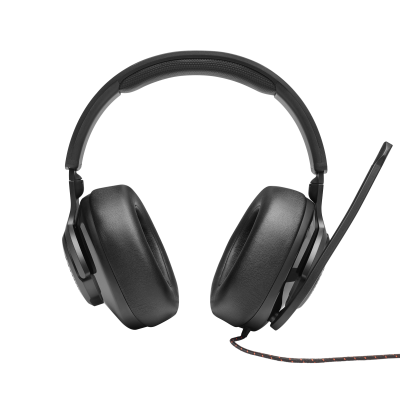 JBL Quantum 200 Wired Over-Ear Gaming Headset with Flip-Up Mic - JBLQUANTUM200BLKAM
